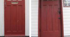 【リフォーム日記】アンティークの玄関ドア