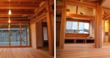木製建具の家