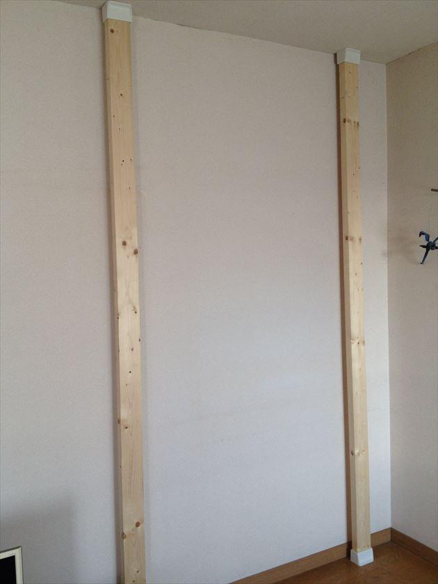 画像1: ≪パイプハンガー≫【壁付ハンガー Wall Pipe hanger +棚